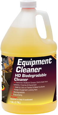 EQUIPMENT CLEANER